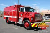 Photos of the U.S. Navy Ford L8000 HAZMAT/RESCUE Conversion Rescue Truck