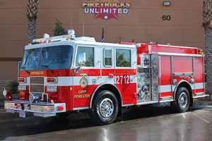 USMC Camp Pendleton Pierce Pumper Refurbishment