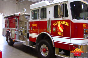 Vandenburg Air Force Base KME Pumper