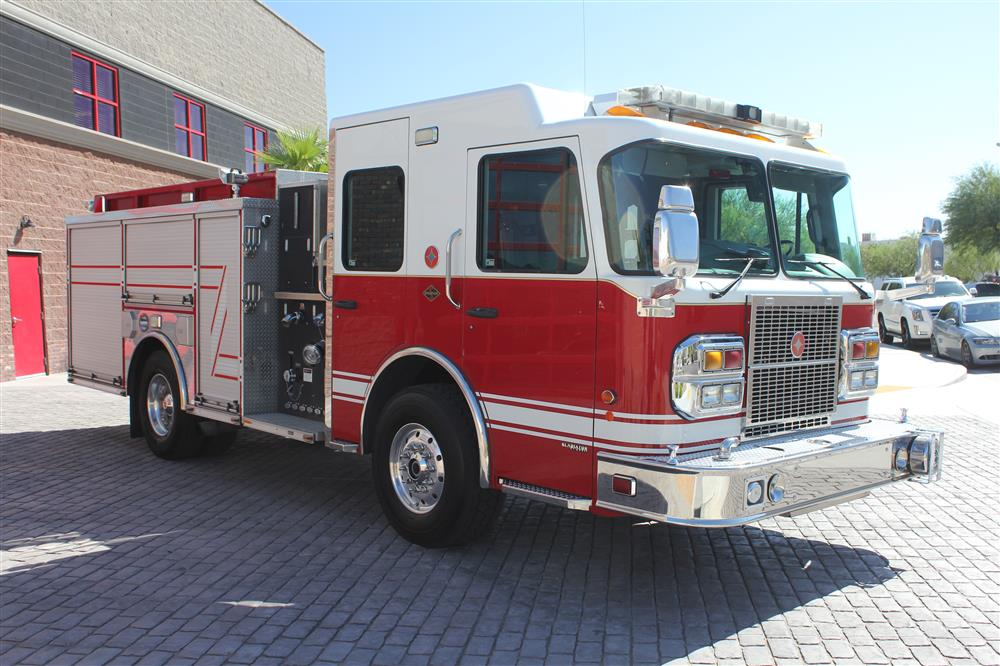Used Trucks For Sale >> 2008 Spartan-Crimson Pumper For Sale #2163 | Firetrucks ...